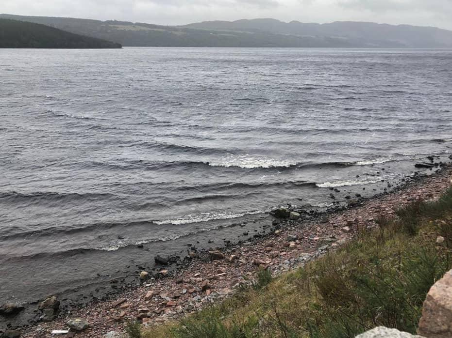 The Shore At Loch Ness